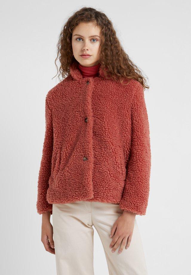 TEDDY - Zimní bunda - antique rose