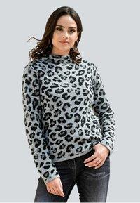 Alba Moda - Sweatshirt - grau,schwarz - 0