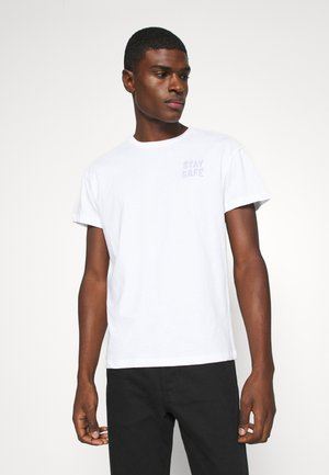 JORKEEP TEE CREW NECK - T-shirt print - white