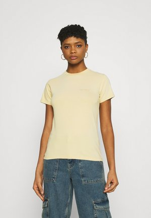MOSBY SCRIPT - T-shirt basic - dusty brown