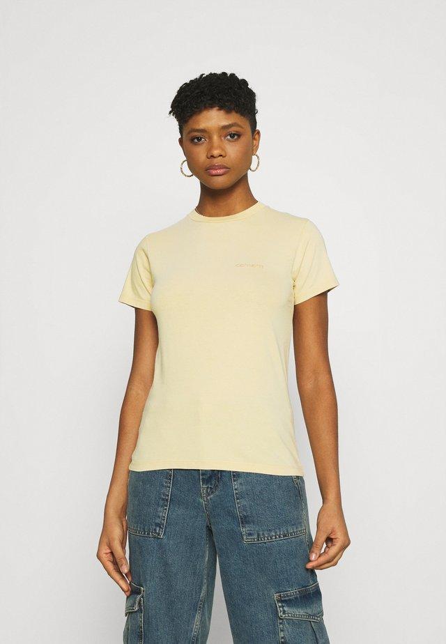 MOSBY SCRIPT - Basic T-shirt - dusty brown