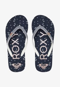 Roxy - PEBBLES  - T-bar sandals - navy - 1