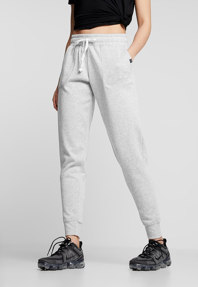 GYM TRACKPANT - Pantaloni sportivi - cloudy grey marle