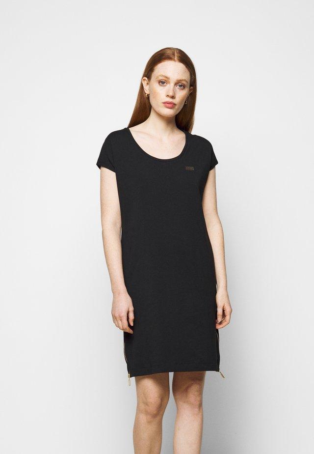 PACE DRESS - Sukienka z dżerseju - black