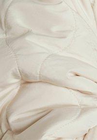 Bershka - Halflange jas - beige - 5