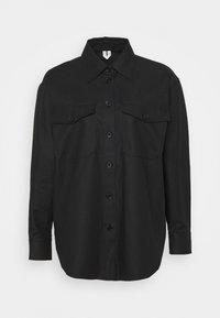 ARKET - Summer jacket - black dark - 4