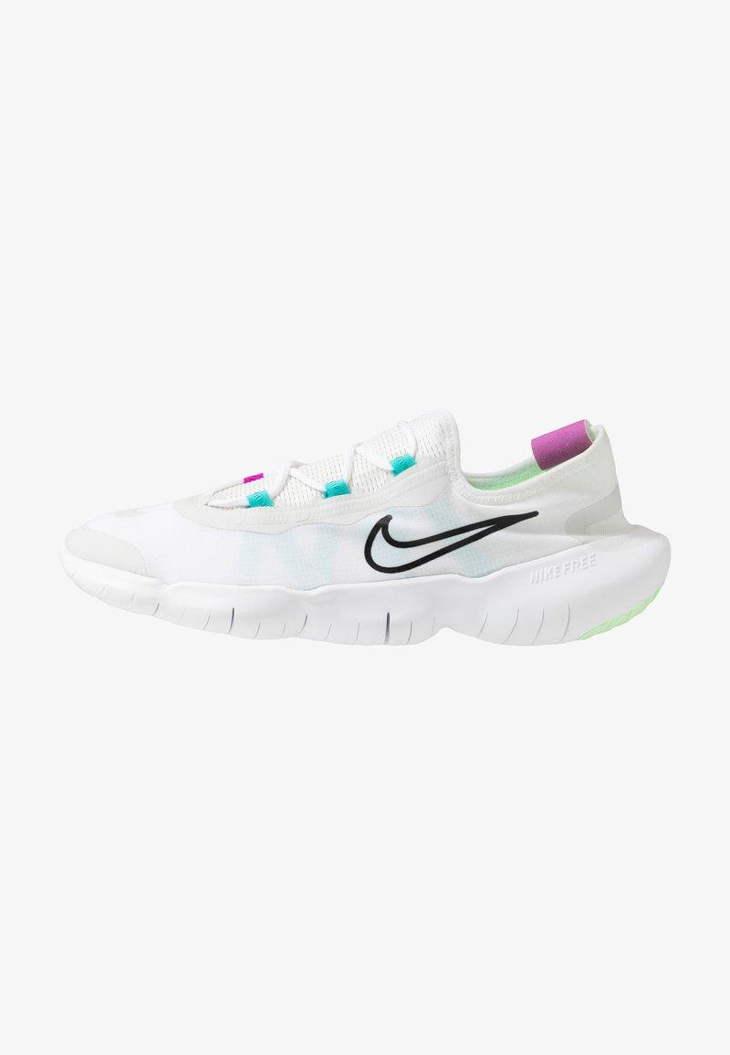 Nike Performance - FREE RN 5.0 2020 - Minimalist running shoes - white/black/summit white