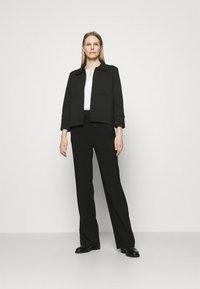 Opus - JONNI - Summer jacket - black - 1