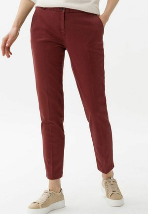 STYLE MARON - Chinos - rosewood