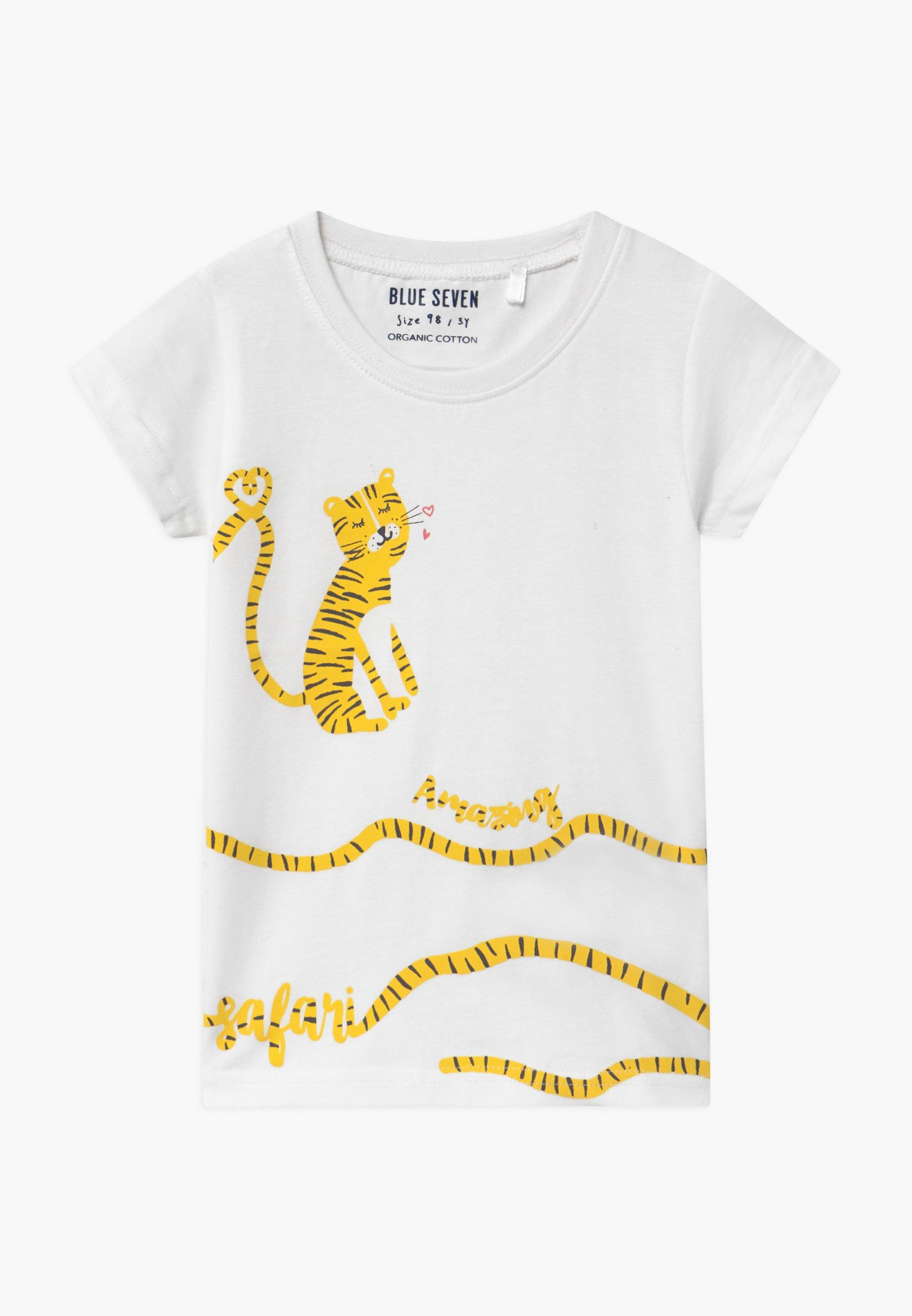 Kids SMALL GIRLS TIGER - Print T-shirt