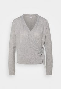 Noisy May - NMHARRISTON  - Cardigan - light grey melange - 0