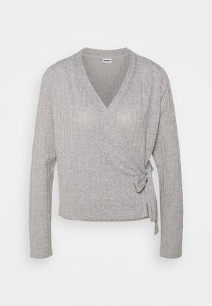 NMHARRISTON  - Cardigan - light grey melange