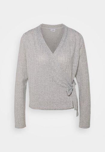 NMHARRISTON  - Cardigan - light grey melange