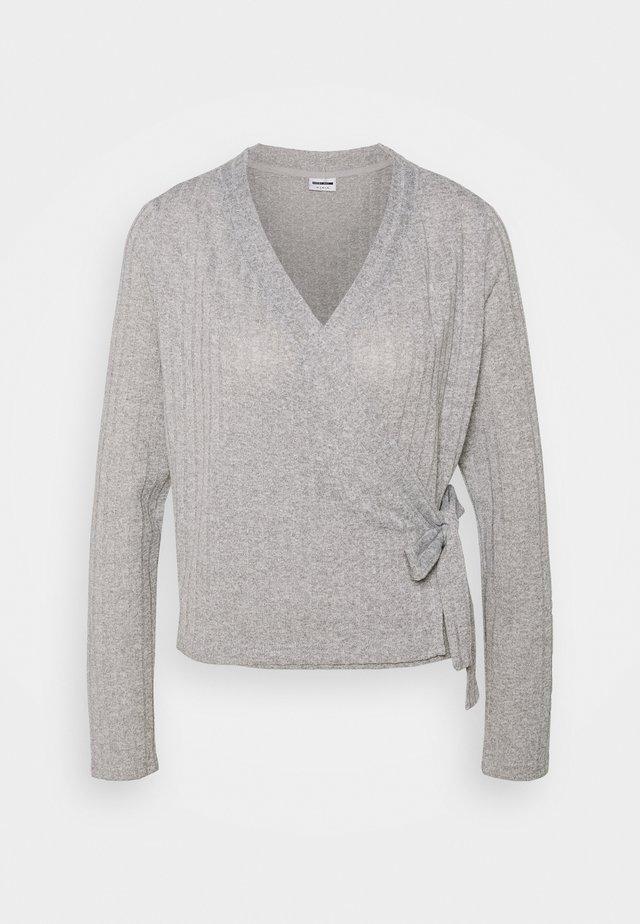 NMHARRISTON  - Kardigan - light grey melange
