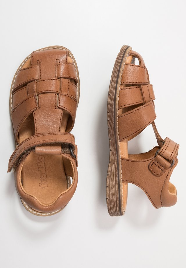 DAROS MEDIUM FIT - Riemensandalette - brown