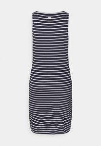 Barbour - DALMORE STRIPE DRESS - Sukienka z dżerseju - navy/white - 6