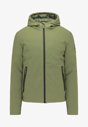 Winter jacket - militär grün