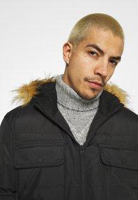 Brave Soul - EVEREST - Winter coat - black - 3