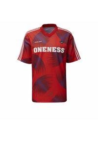 adidas Originals - T-shirts print - red - 8