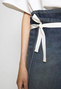 MM6 Maison Margiela - SKIRT - Denim skirt - vintage wash - 5