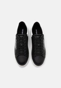 Emporio Armani - Trainers - black/white - 3