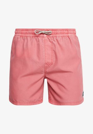 VOLLEY SUNSET SHADES - Swimming shorts - light red