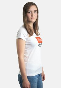 Platea - Print T-shirt - weiß - 2