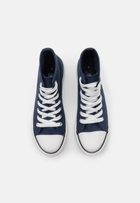 Miss Selfridge - IVER FLAT - Sneakers hoog - dark blue - 5