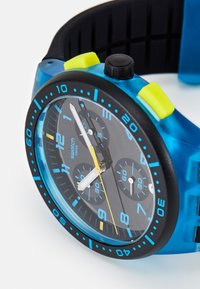 Swatch - TIRE - Chronograph watch - blue - 5