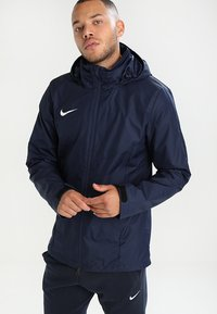 Nike Performance - ACADEMY18 - Waterproof jacket - obsidian/obsidian/white - 0