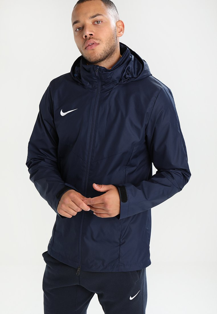 Nike Performance - ACADEMY18 - Waterproof jacket - obsidian/obsidian/white