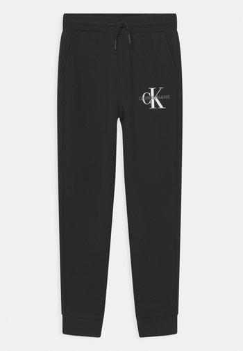 MONOGRAM LOGO  - Teplákové kalhoty - black