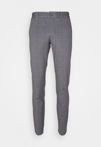 Only & Sons - ONSMARK TAP PANT CHECK - Tygbyxor - black - 4