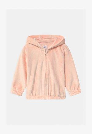 COZY  - veste en sweat zippée - milkshake pink