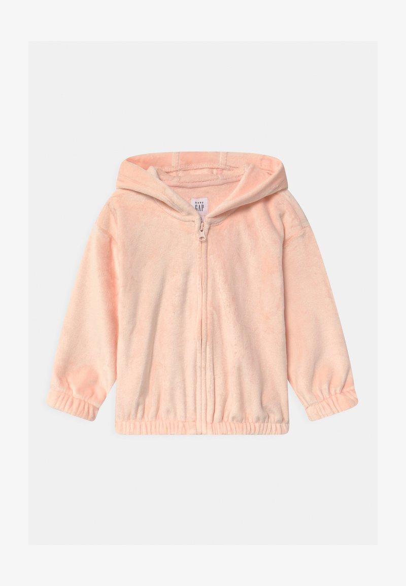 GAP - COZY  - Zip-up sweatshirt - milkshake pink