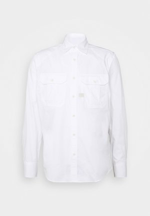 POLICE SLIM SHIRT L\S - Košile - white