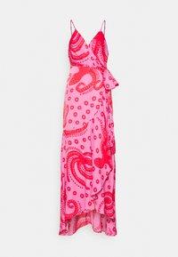 Farm Rio - OCTOCOOL WRAP DRESS - Day dress - red - 0