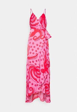 OCTOCOOL WRAP DRESS - Kjole - red
