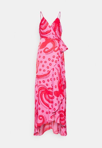 OCTOCOOL WRAP DRESS - Vestito estivo - red