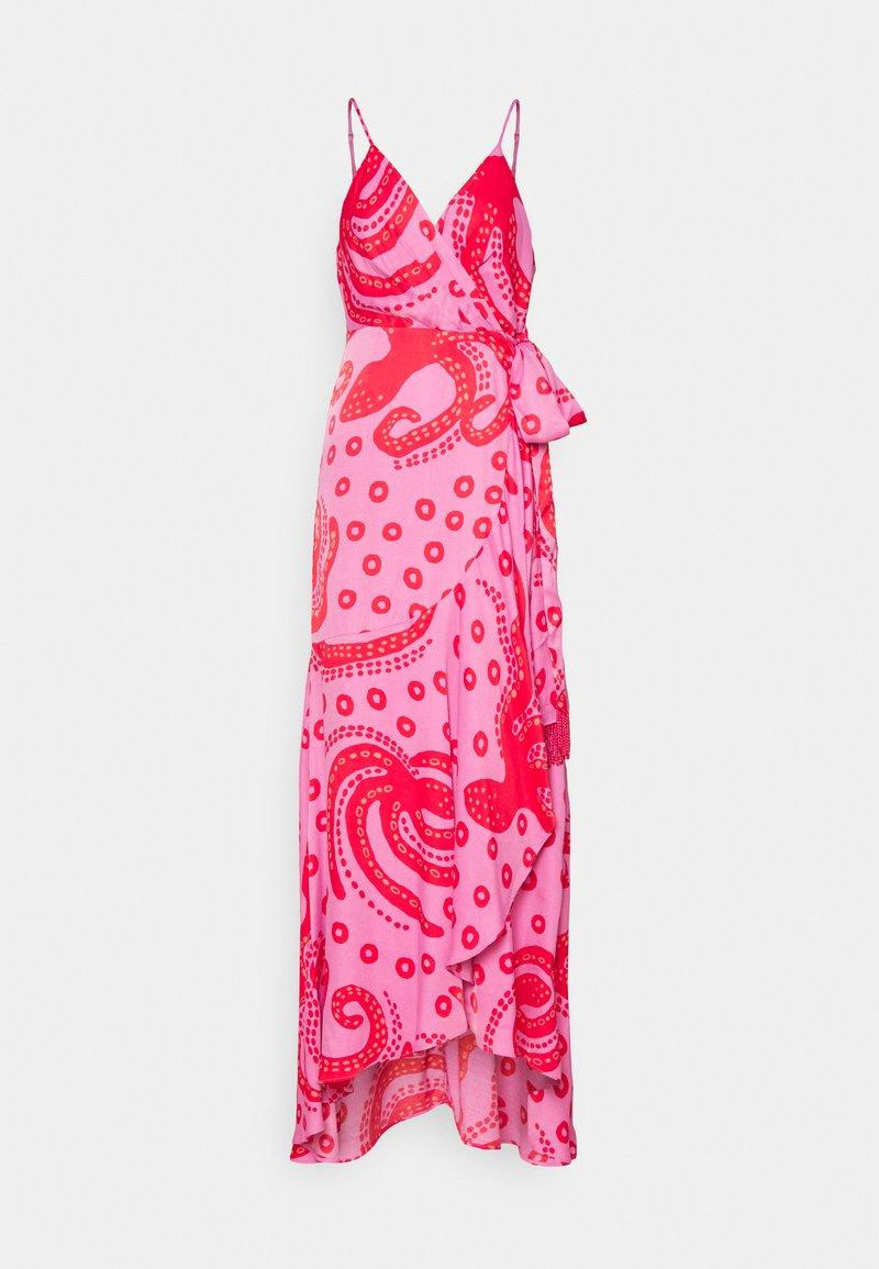 Farm Rio - OCTOCOOL WRAP DRESS - Day dress - red