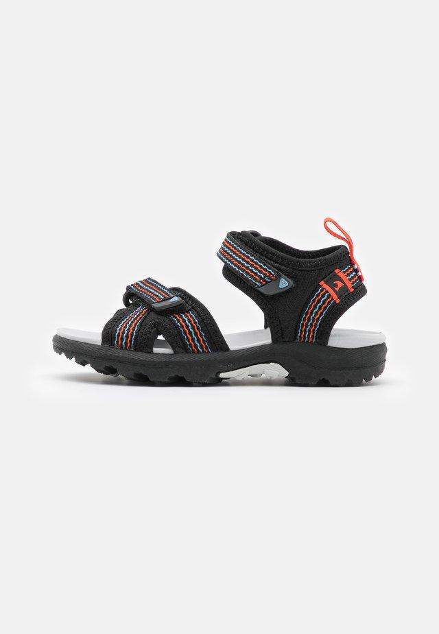 LOPPA UNISEX - Sandały trekkingowe - black/dark grey