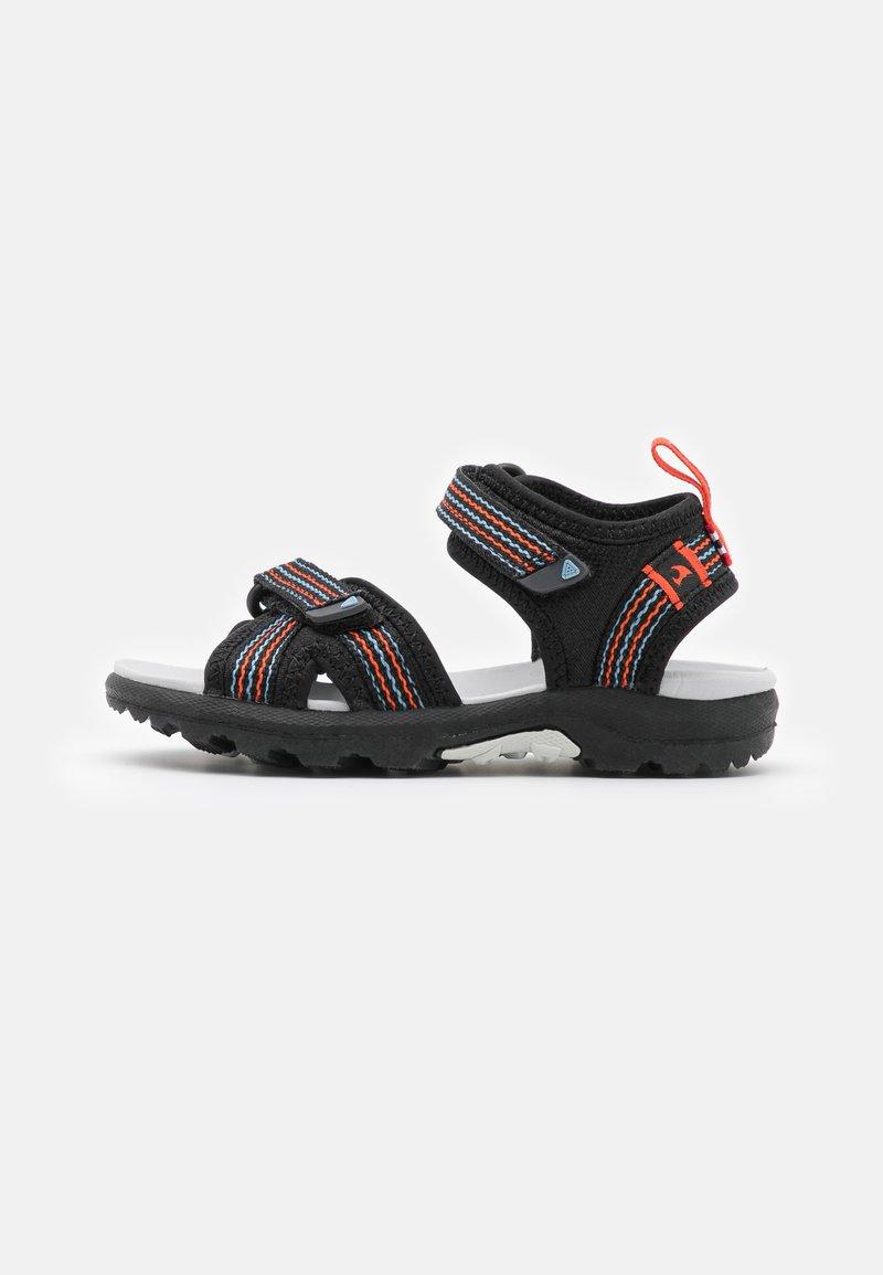 Viking - LOPPA UNISEX - Walking sandals - black/dark grey