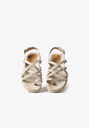 DAISY - Sandals - natural