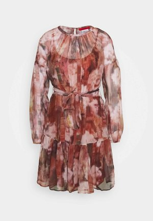 ZIRCONE - Day dress - burgundy