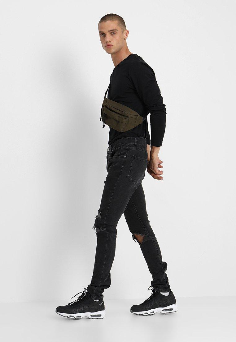 YOURTURN - 2 PACK - Long sleeved top - black