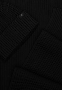 Marc O'Polo - HAT AND SCARF SET - Scarf - black - 4