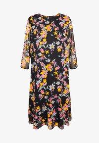 Pieces - PCNANNA TIEBELT DRESS - Sukienka letnia - black - 6