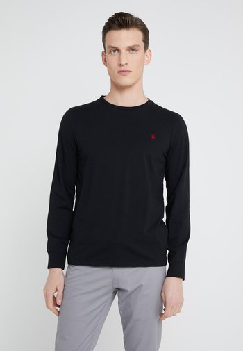 LONG SLEEVE - Pitkähihainen paita - polo black