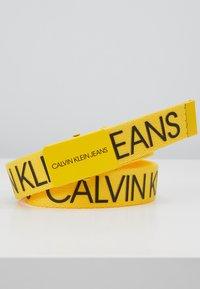 Calvin Klein Jeans - LOGO BELT - Vyö - yellow - 2