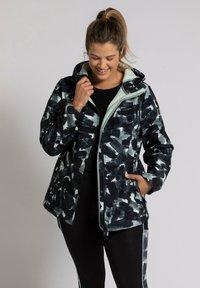 Ulla Popken - Soft shell jacket - multicolor - 1